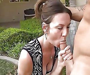 Husband with neighbor